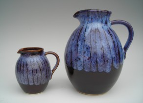 Pitcher and Milk Jugs