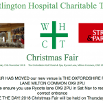 Christmas Fair – 15th November 2018 – The Oxfordshire Golf Hotel & Spa, Rycote Lane, Milton Common, OX9 2PU