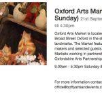 Craft Market in Oxford