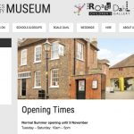 Exhibition at Aylesbury Museum, 16 November-7 December.